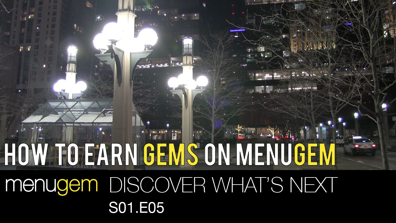 How to Earn Gems on MenuGem - Discover What's Next S01.E05