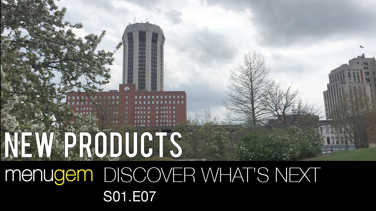 New Products on MenuGem Springfield and the MenuGem Web Store - Discover What's Next S01.E07