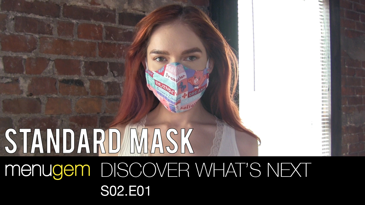 The MenuGem Standard Mask - Discover What's Next S02.E01