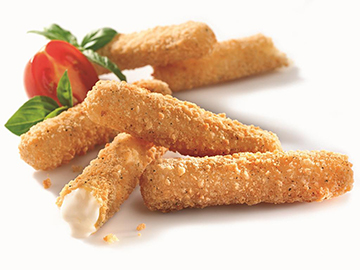 Mozzarella Sticks Sepeti at Kocatepe Kahve Evi