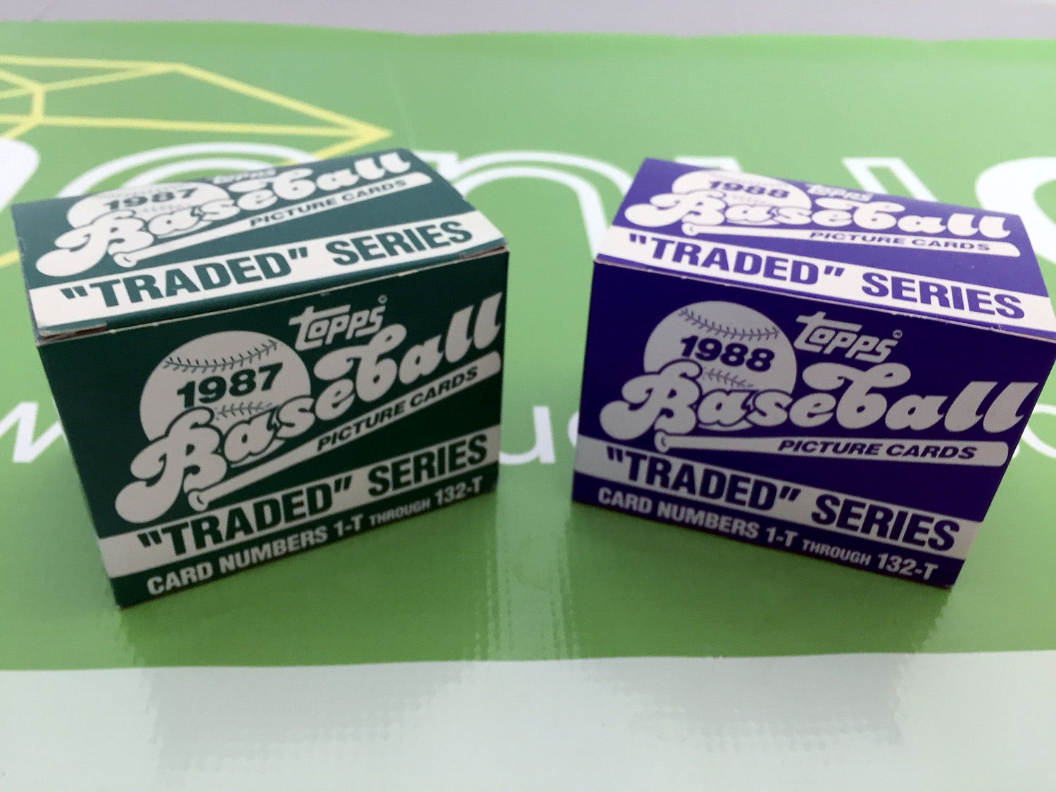 1987 and 1988 Topps Traded Sets [SEE VIDEO]