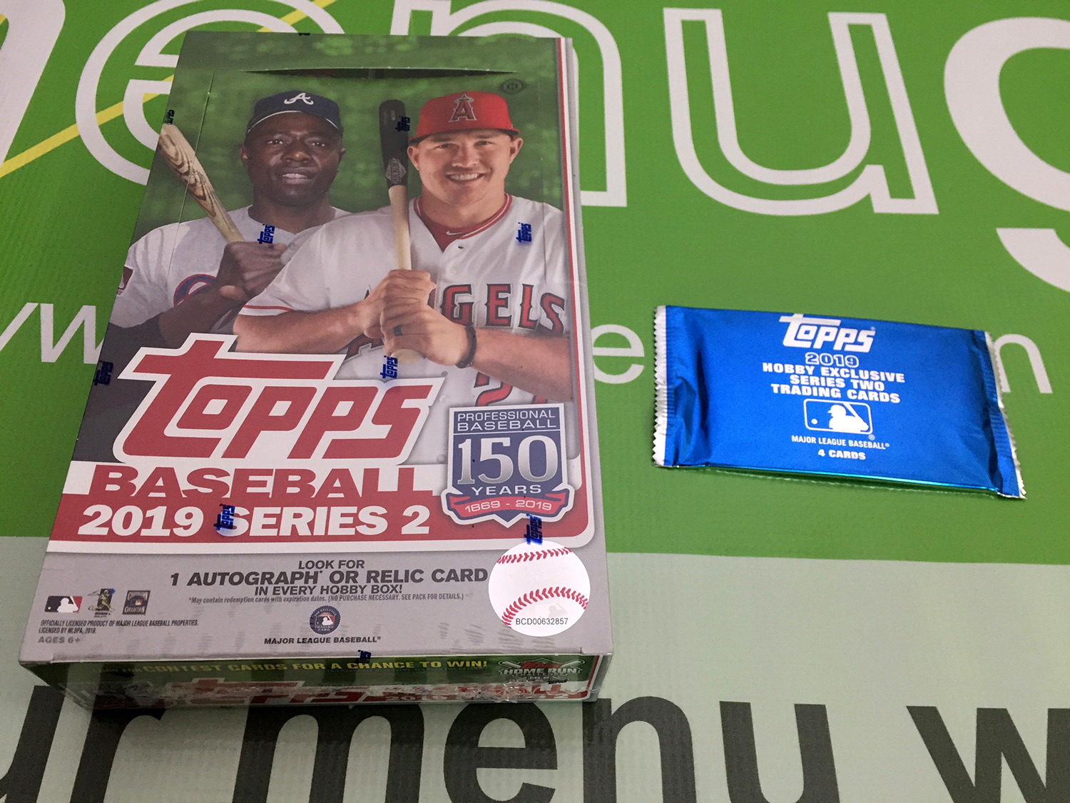 2019 Topps Series 2 Hobby Box + 1 Silver Pack [SEE VIDEO]