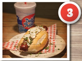 Combo 3: The Hot Dog Meal