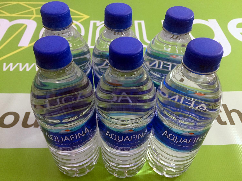 Aquafina Bottled Water 16.9 Fl Oz (500mL) Lot of 6 Bottles