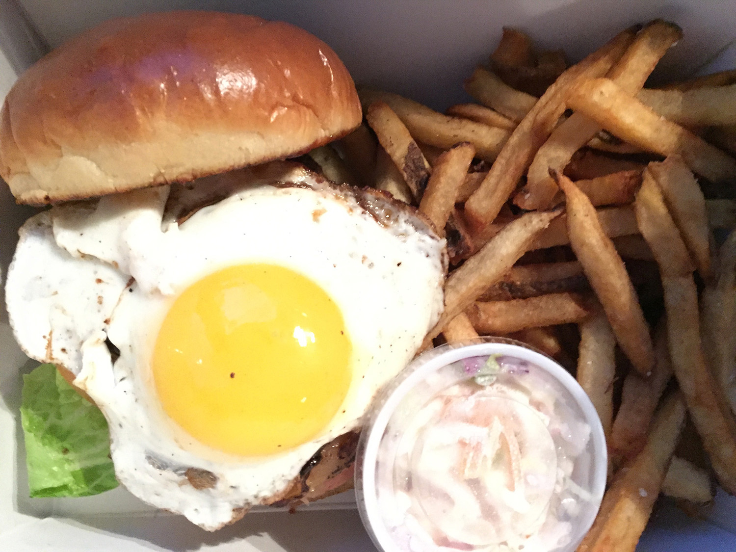 Bellwether Burger at Bellwether Meeting House and Eatery