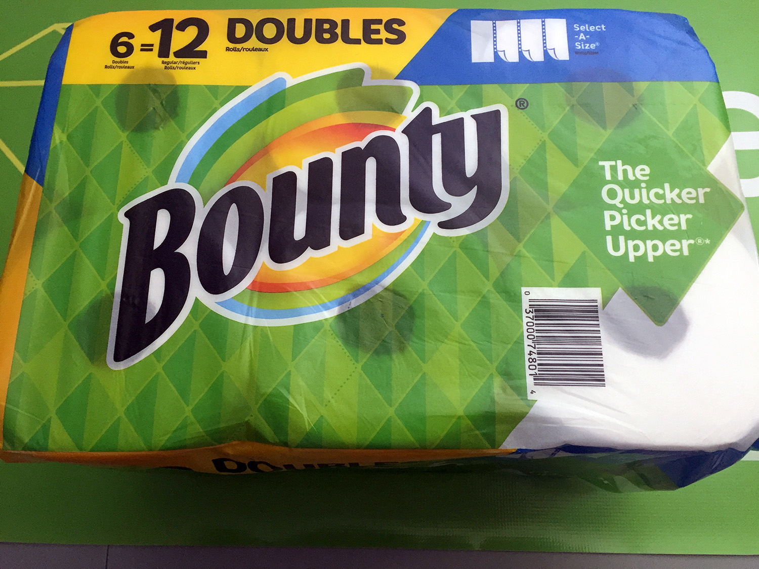 Bounty Paper Towels 6-Pack with Select-a-Size