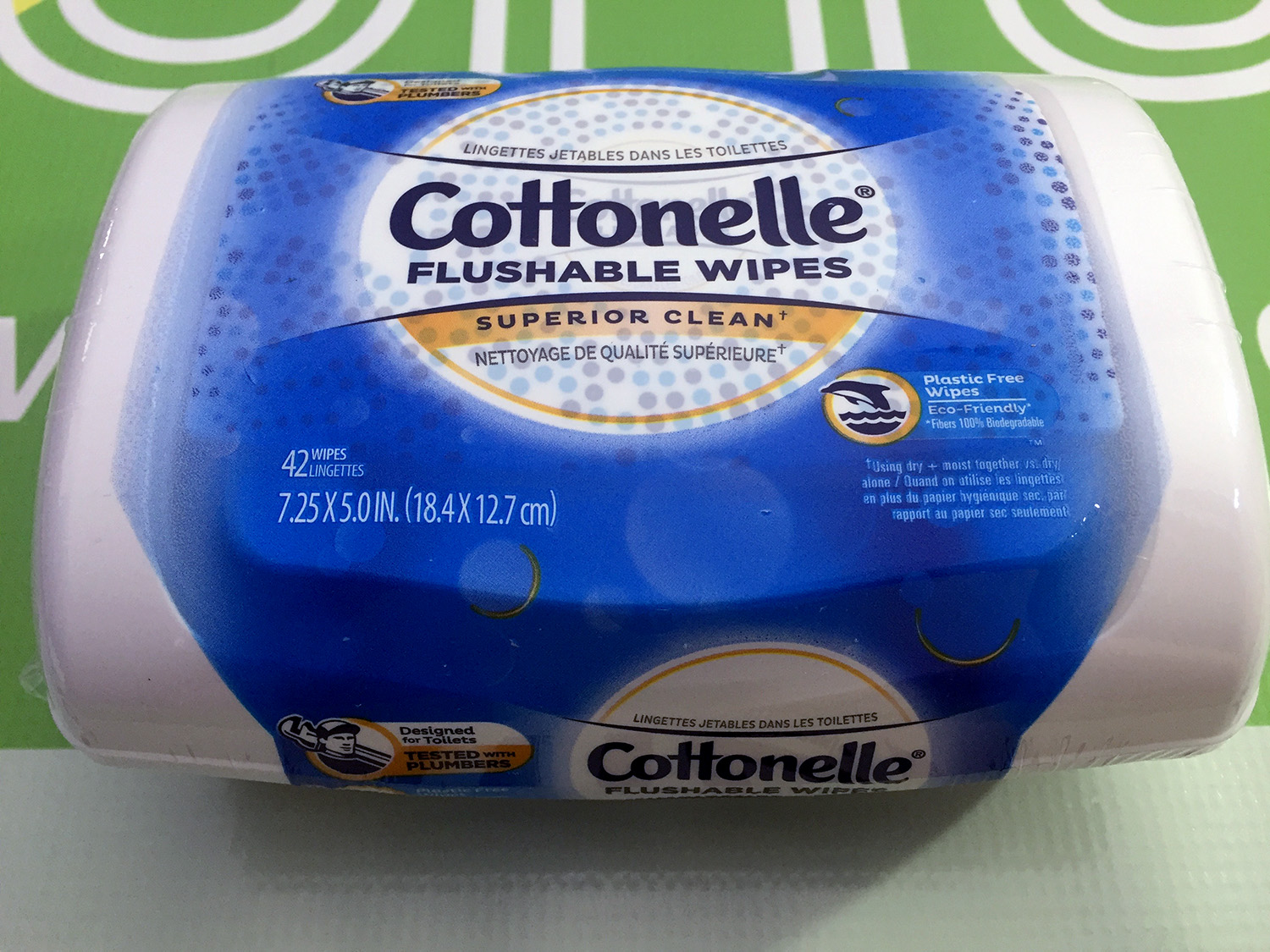 Cottonelle Flushable Wipes (42 wipes)