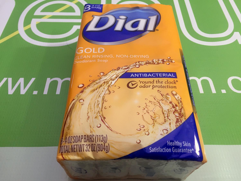 Dial Gold Bar Antibacterial Soap (8 Bars)
