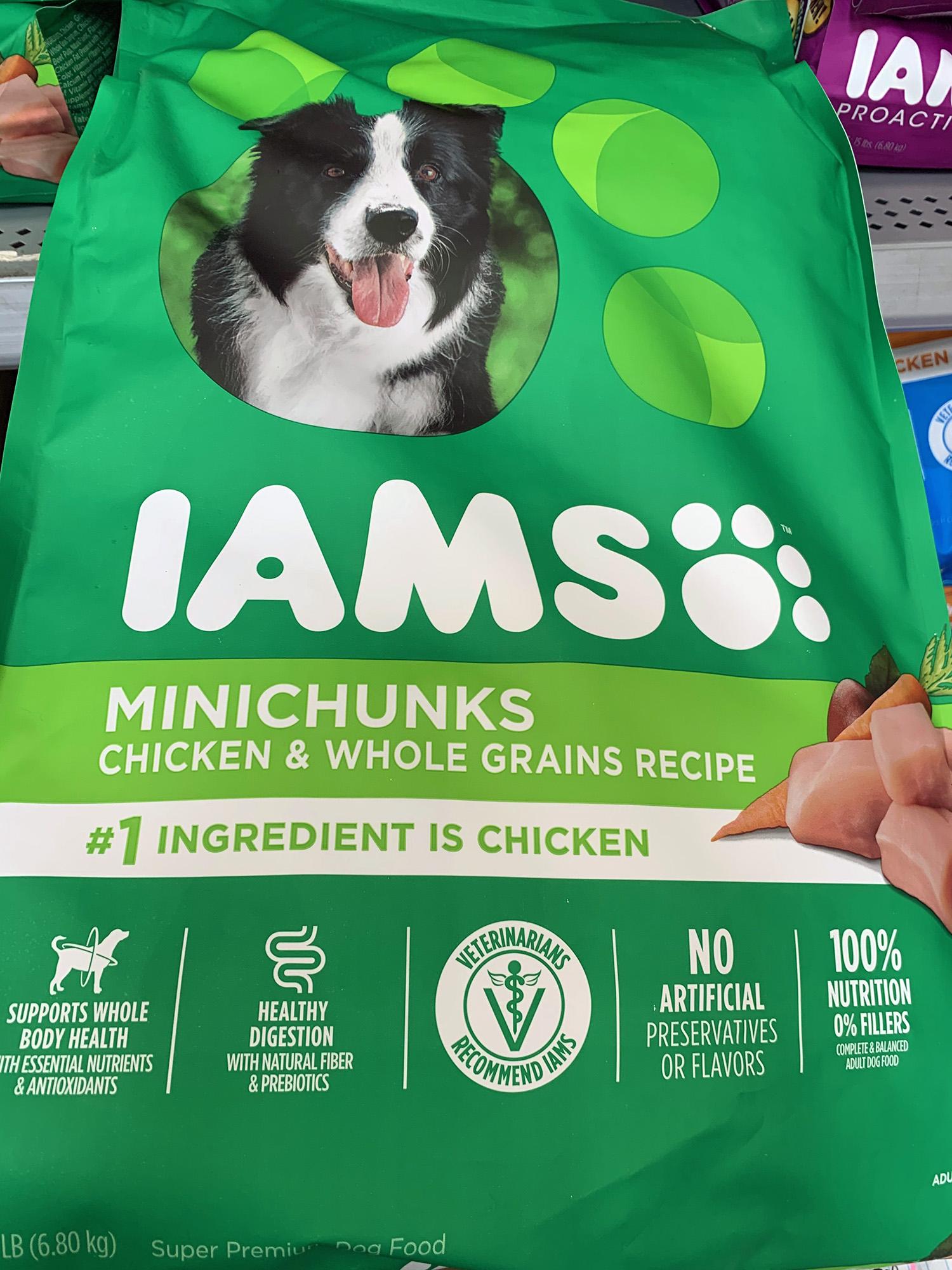 Iams Proactive Health Minichunks 15 lb bag