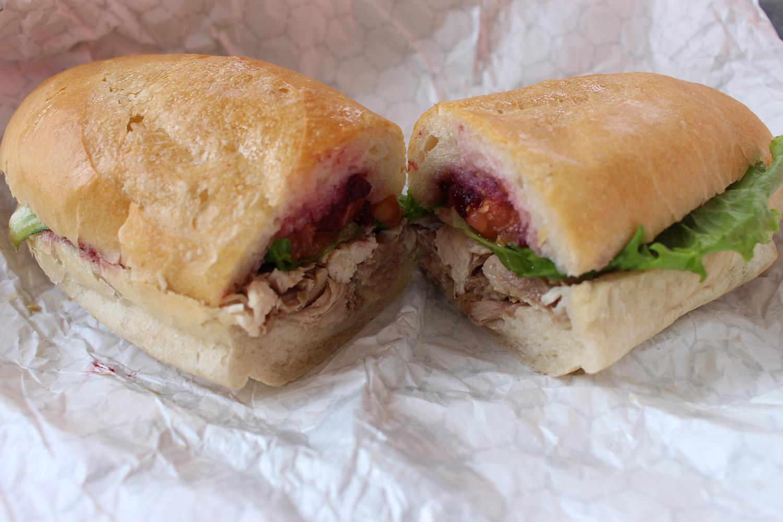 Roasted Turkey Sandwich - French Bread