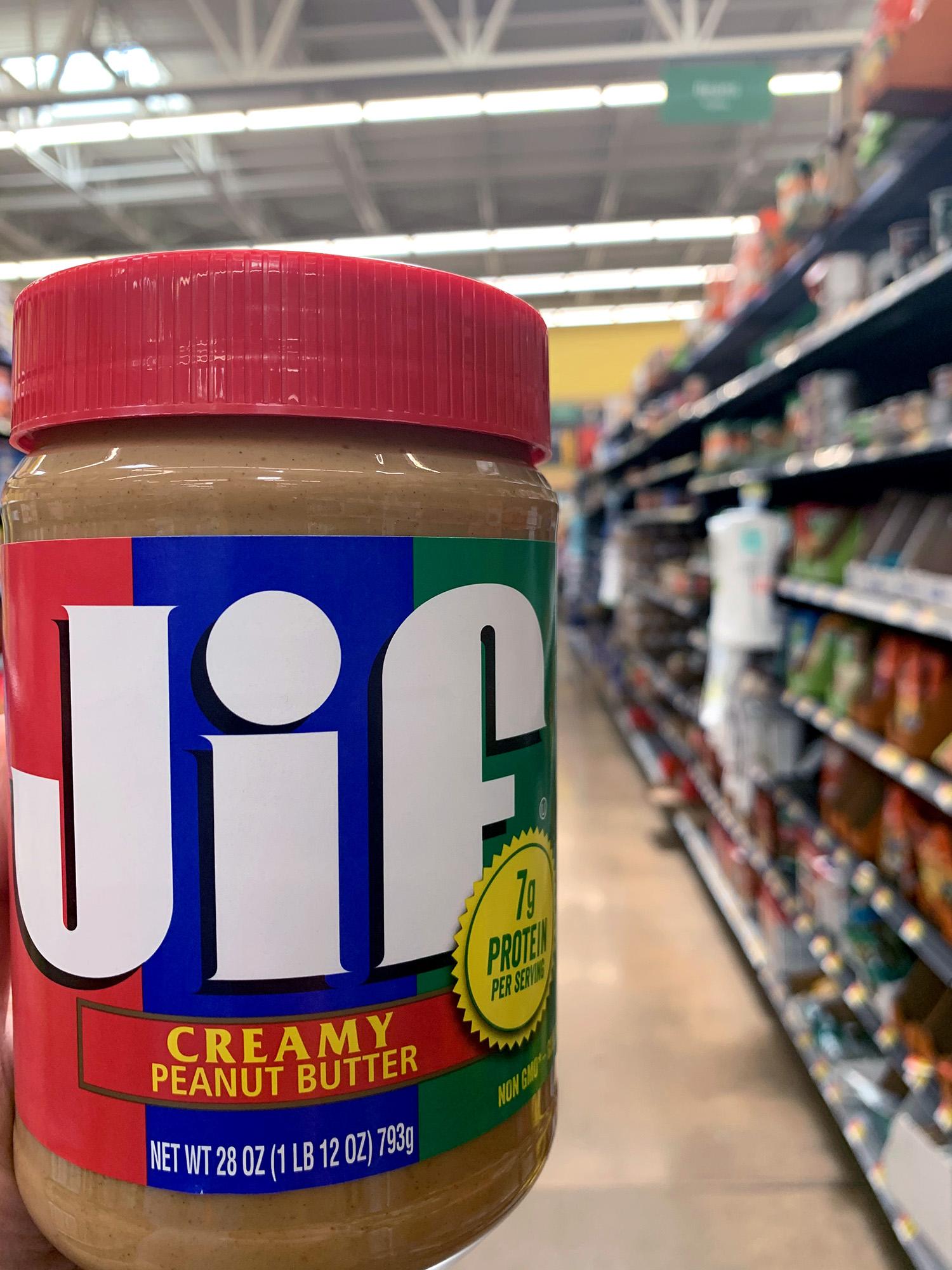 Jif Creamy Peanut Butter 28 Oz Jar