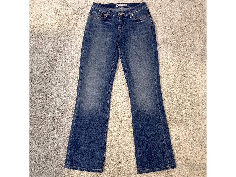 Levis Womens Curvy 529 Boot Cut Jeans Size 6