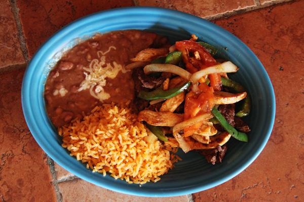 Lunch Fajitas