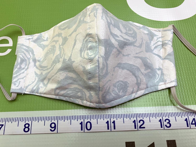 MenuGem Standard Mask Single - White Floral print