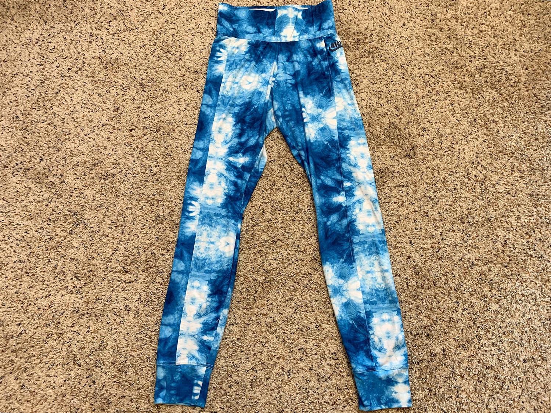 Nike Sportswear Womens N7  Blue Nebula Tights Size S