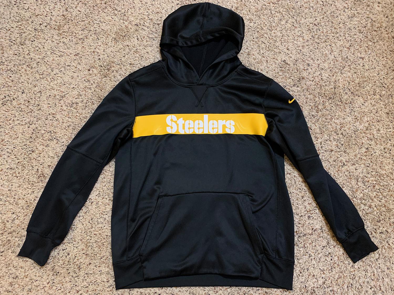 Nike NFL Youth Pittsburgh Steelers Sideline Hoodie XL