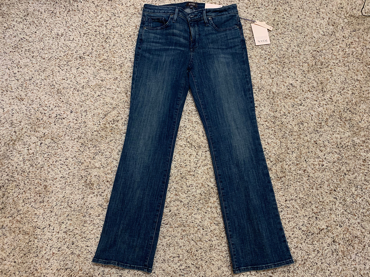 NYDJ Not Your Daughters Jeans Womens Barbara Bootcut Jeans Sz 6P