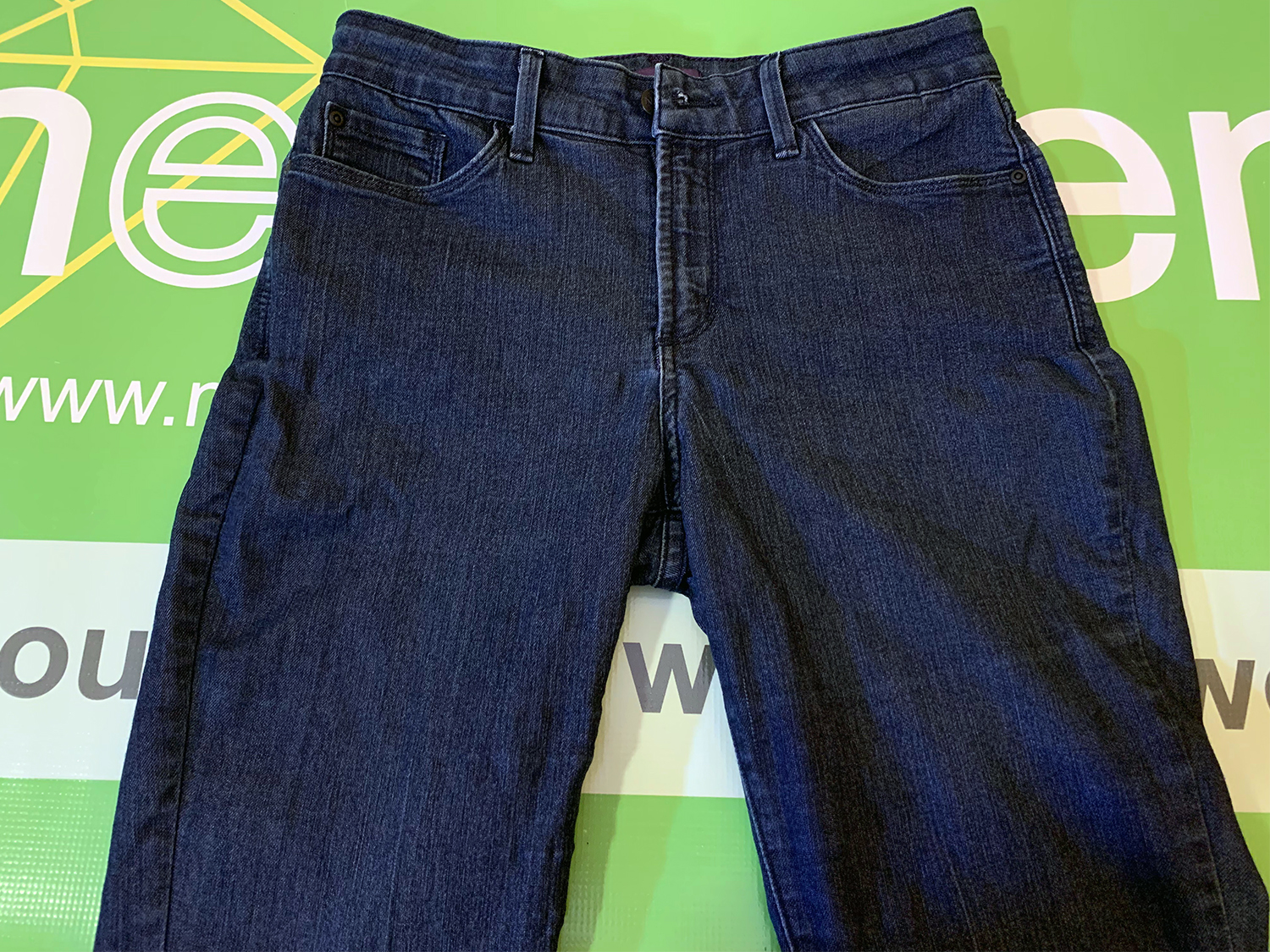 Not Your Daughters Jeans Womens Clarissa Ankle Skinny Jeans 10P