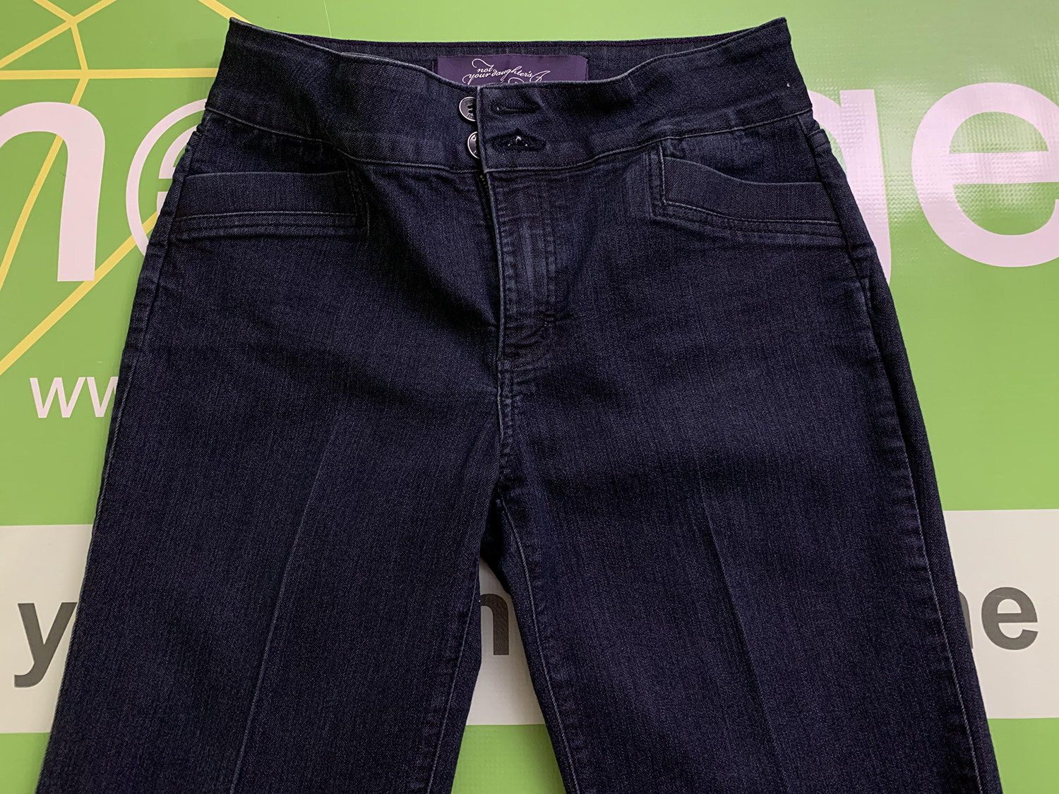 NYDJ Not Your Daughters Jeans Womens Blue Stretch Jeans Size 4