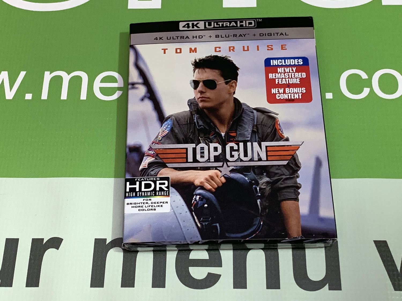 Top Gun 4K UHD, Blu Ray, and Digital