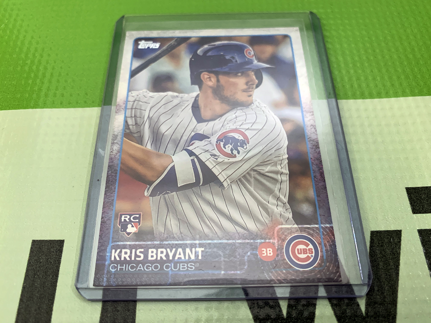 2015 Topps 616 Kris Bryant Rookie Card SEE VIDEO