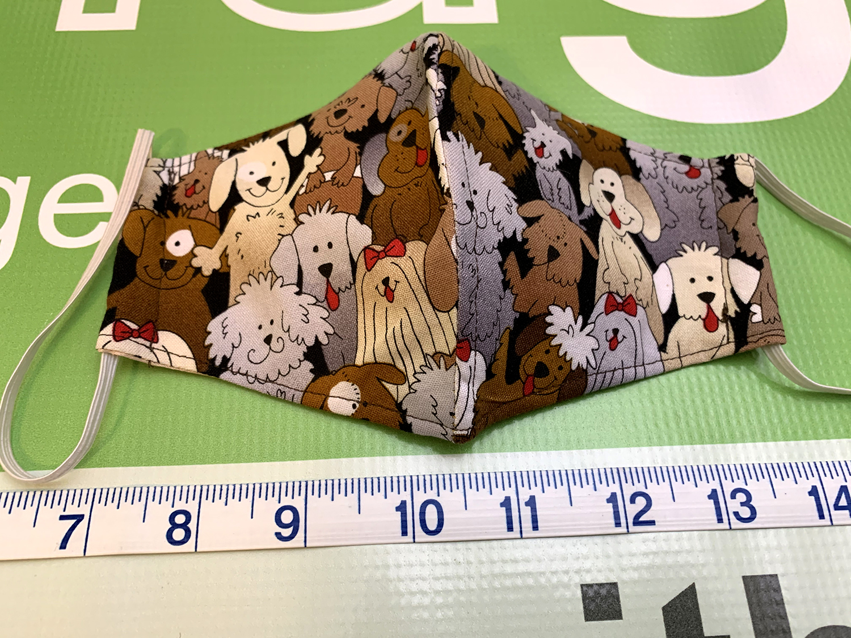 MenuGem Standard Mask Single - Dogs print