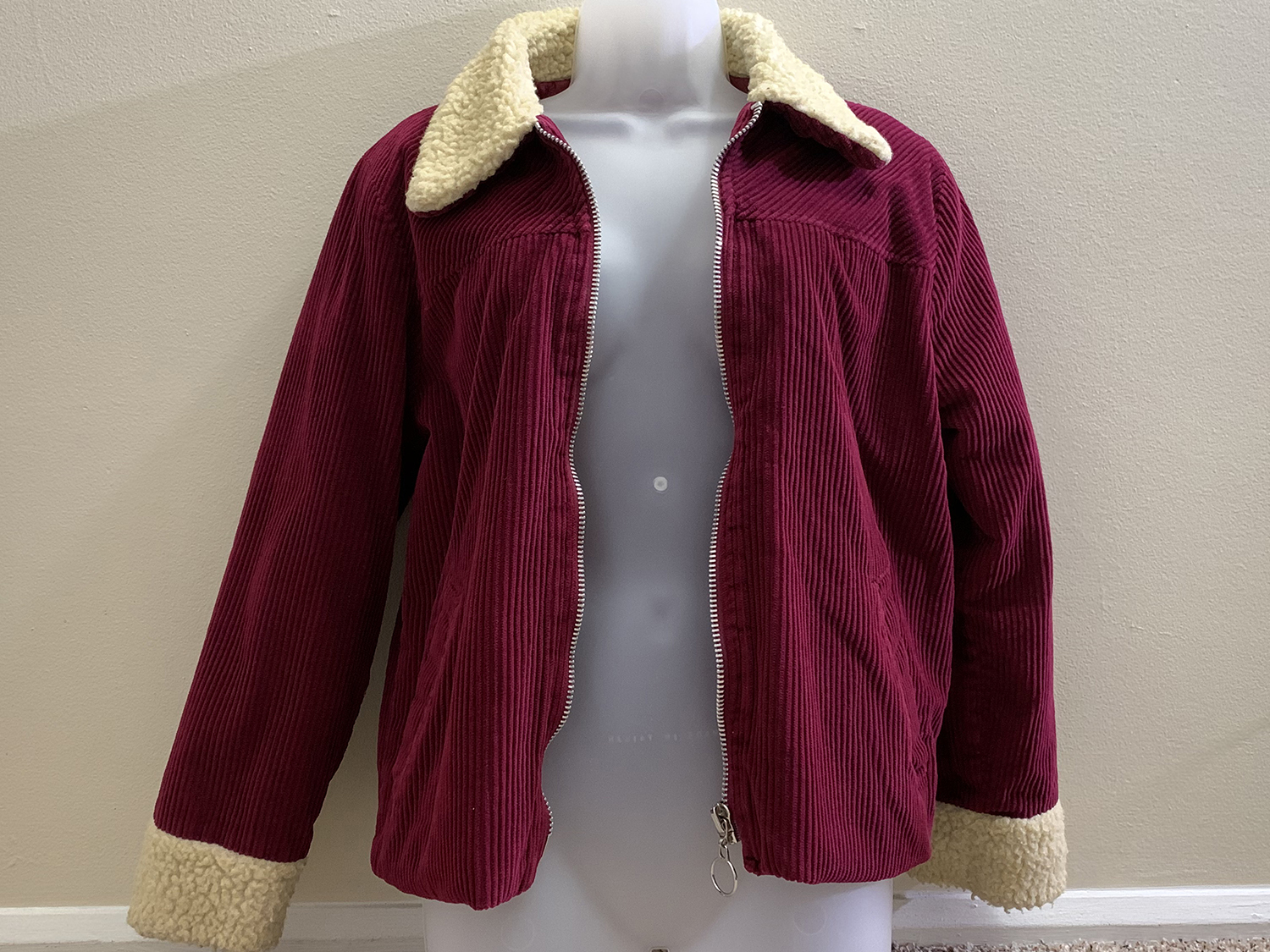 Free People Womens Corduroy Jacket Size S SEE VIDEO