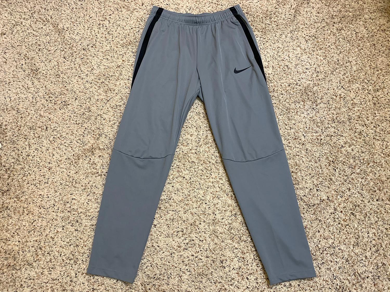 Nike Mens Grey Epic Knit Training Pants Size L