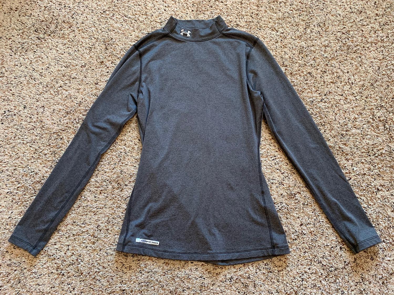 Under Armour Womens UA ColdGear Authentic Mock Shirt Size M