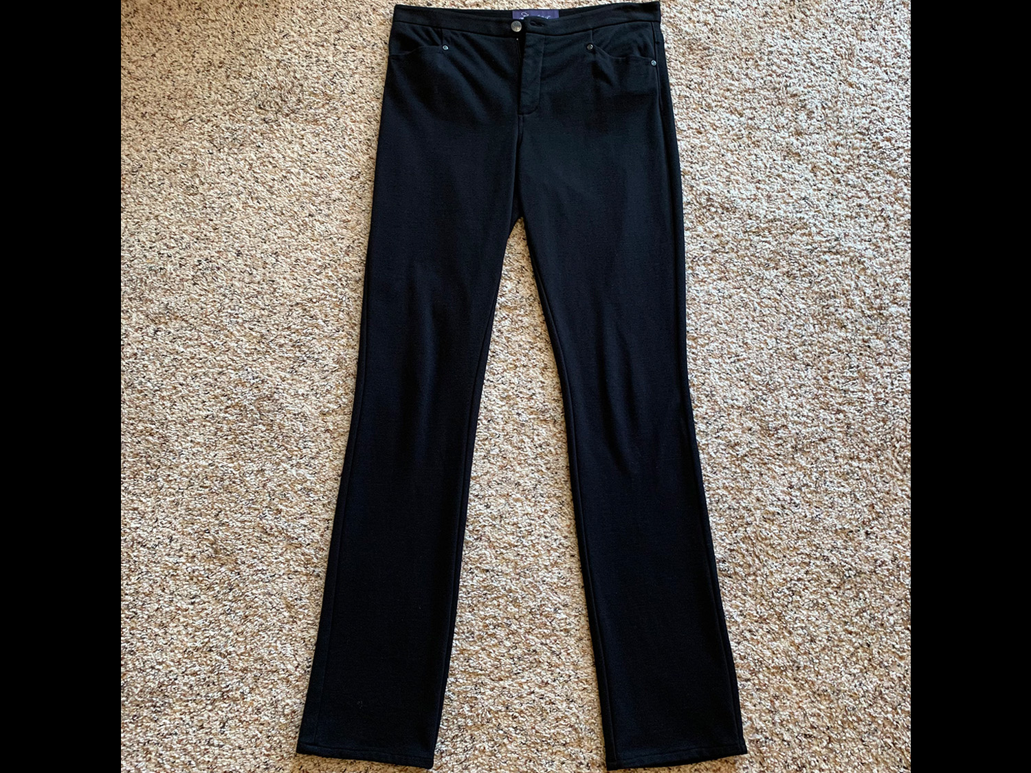Not Your Daughters Jeans Womens Stretch Trousers Size 6