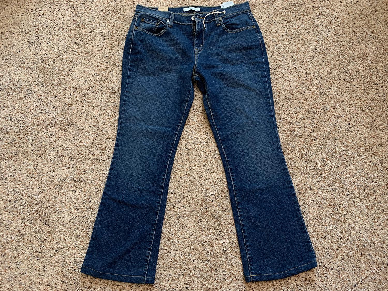Levis Womens Boot Cut 515 Jeans Size 12M