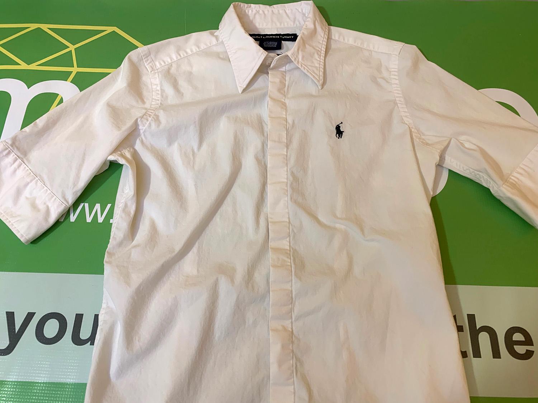 Ralph Lauren Sport Womens Super Slim Fit Button-Up Shirt Size 6 at The MenuGem Web Store