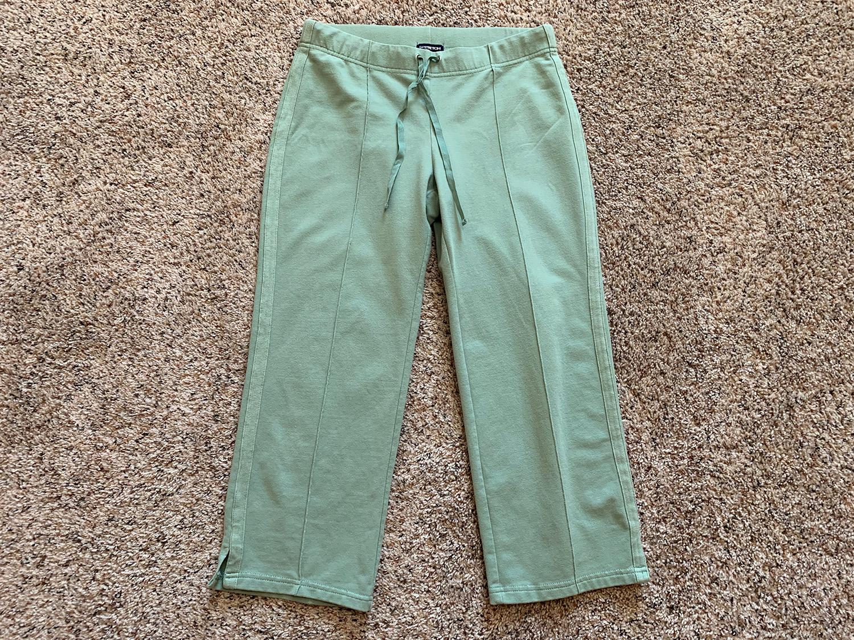 Gap Womens Crop Cotton Stretch Pants Size XS