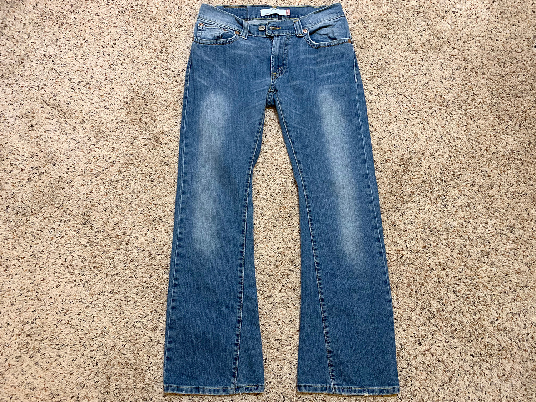 Levis Womens 542 Low Bootcut Jeans Size 8M