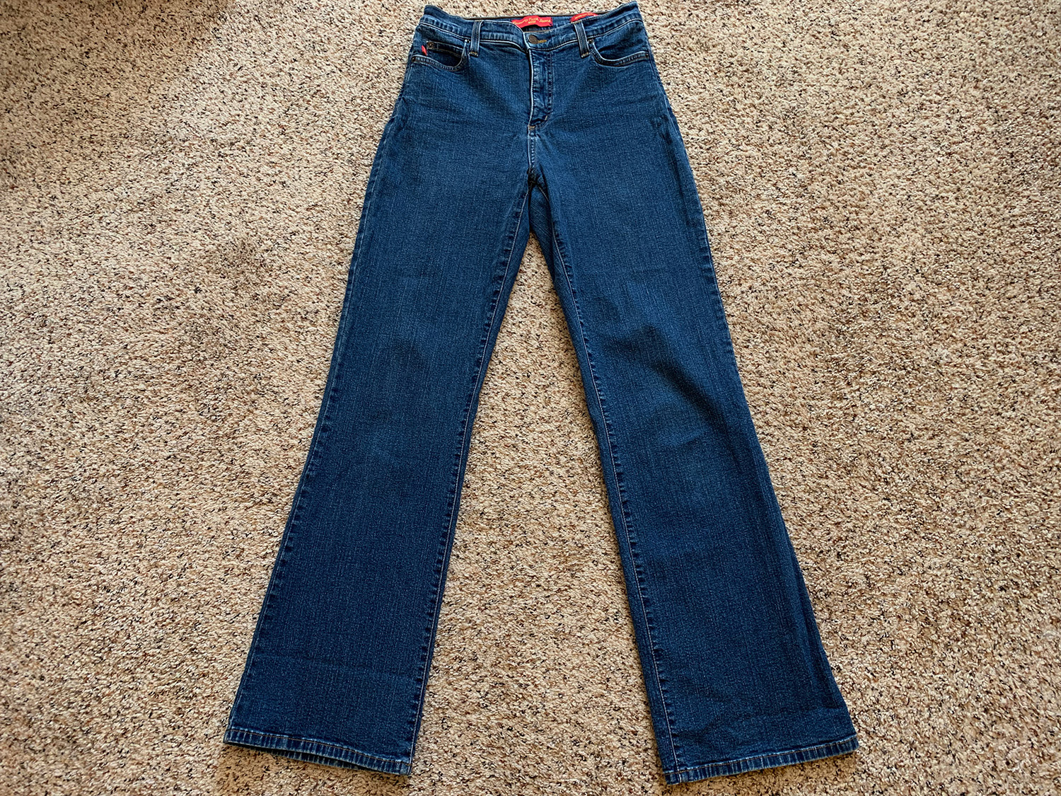 Not Your Daughters Jeans Womens Tummy Tuck Jeans Size 4