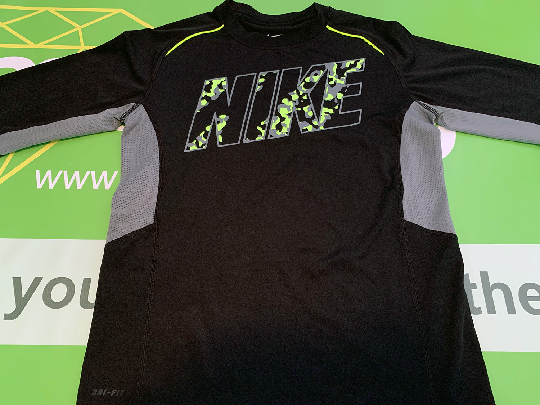Nike Boys Dri-fit Long Sleeve Shirt Size S