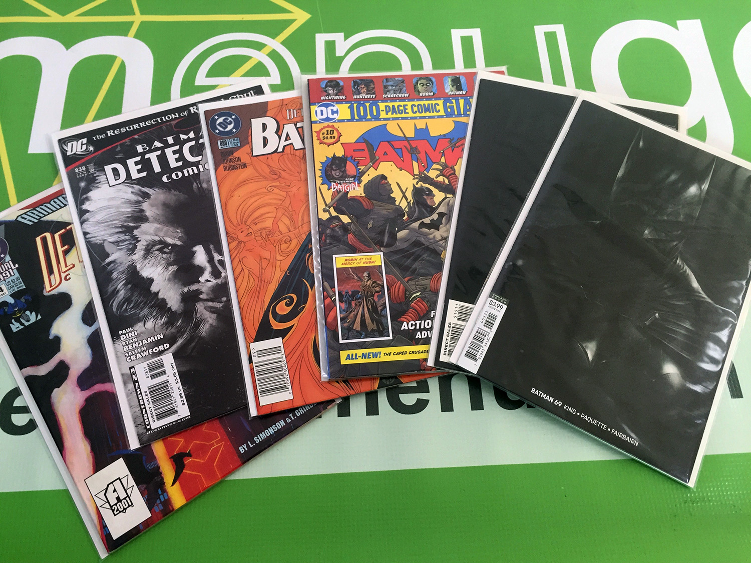 Batman Modern Lot 1 [SEE VIDEO]