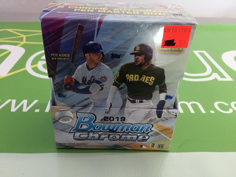 2019 Bowman Chrome Hobby Box [SEE VIDEO]