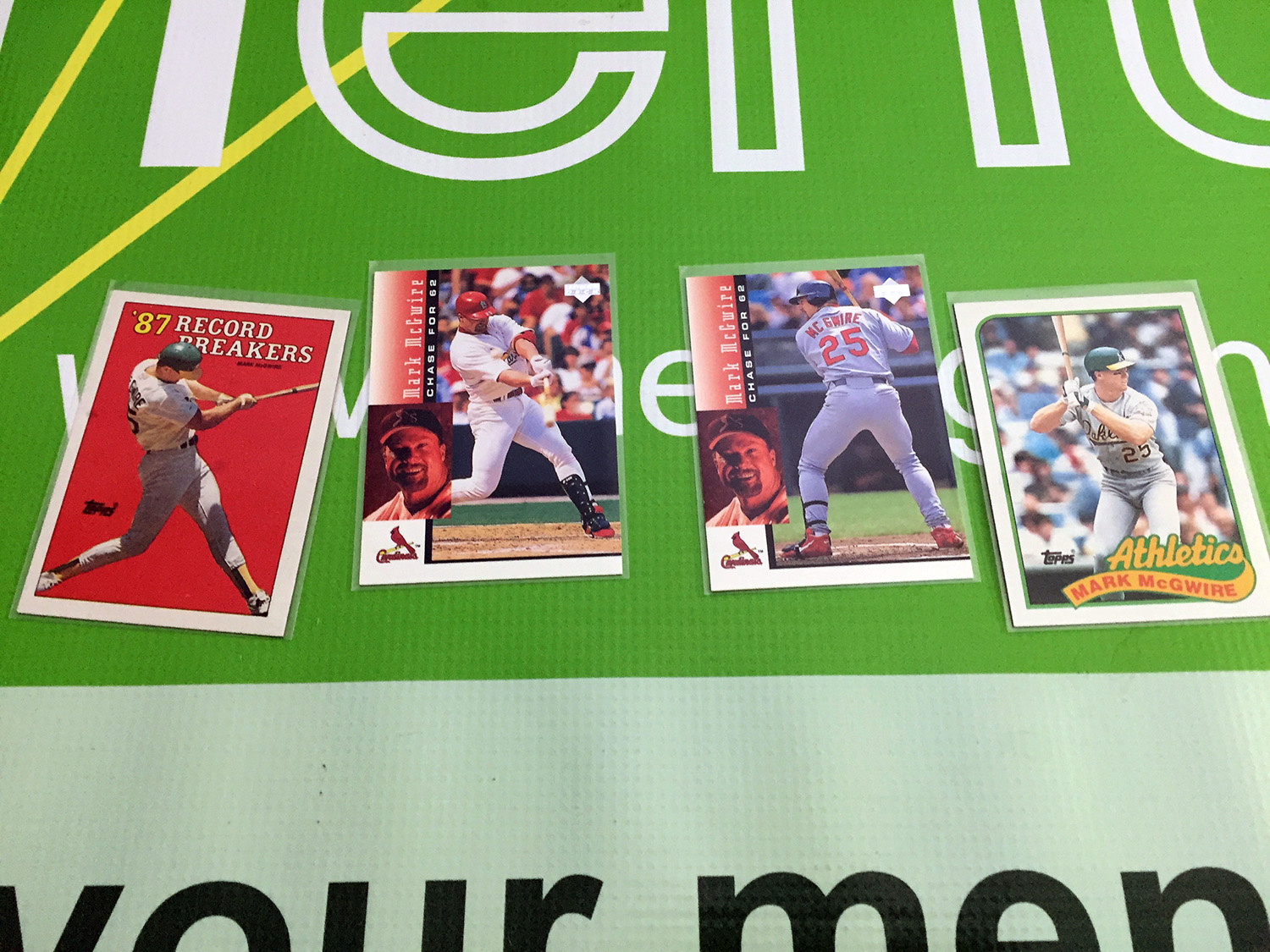 Mark McGwire Lot 1 [SEE VIDEO]